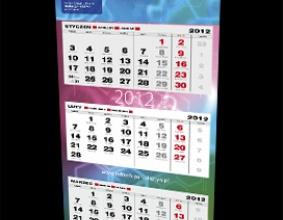 Kalendarz trójdzielny IRZ