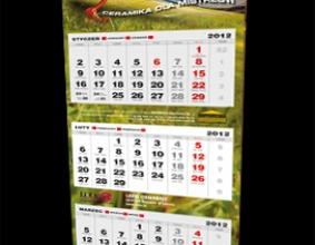 kalendarz trójdzielny IMPORTEX