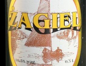 Etykieta piwa Żagiel