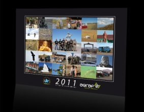 Kalendarz 13-stronicowy firmy Agraf