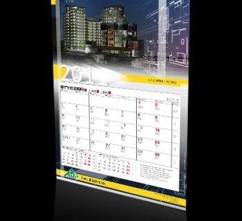 Kalendarz jednodzielny firmy Arbet