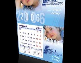 Kalendarz jednodzielny firmy BIG CONSULTING