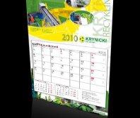 Kalendarz jednodzielny firmy Krynicki Recykling