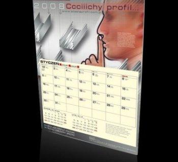 Kalendarz jednodzielny STEELA