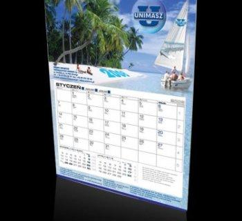 Kalendarz jednodzielny firmy UNIMASZ