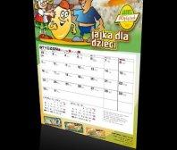 Kalendarz jednodzielny firmy WYLĘŻEK