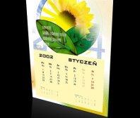Kalendarz jednodzielny firmy ZZ ROL