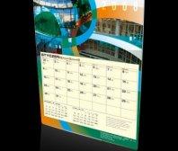 Kalendarz jednoplanszowy firmy ARBET