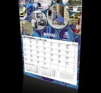 Kalendarz jednoplanszowy firmy ROYAL