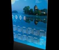 Kalendarz plakatowy Wojewódzkiego Funduszu Ochrony Srodowiska