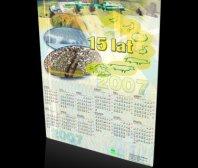 Kalendarz plakatowy firmy AGROCENTRUM