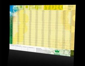 Kalendarz podkładowy firmy AGROCENTRUM