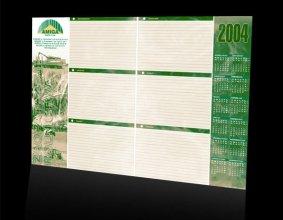 Kalendarz podkładowy firmy AMIGA