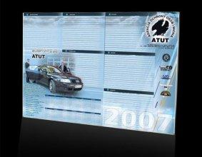 Kalendarz podkładowy firmy ATUT