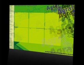 Kalendarz podkładowy firmy Agraf