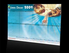 Kalendarz podkładowy firmy LINEA DECOR