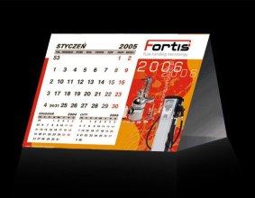 Kalendarz trójkątny firmy IRZ
