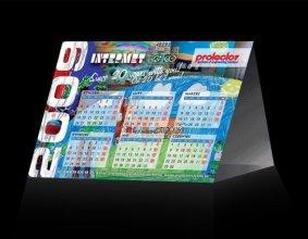 Kalendarz trójkątny firmy INTERMET Sp. z o.o., producenta szpul i bębnów