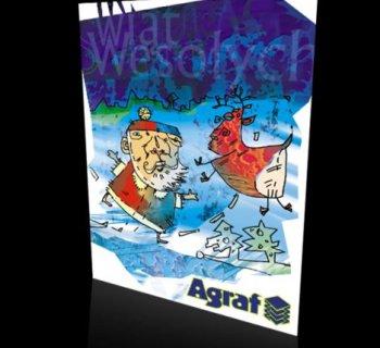 Kartka świąteczna firmy Agraf