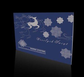 Kartka świąteczna firmy BARWA SYSTEM