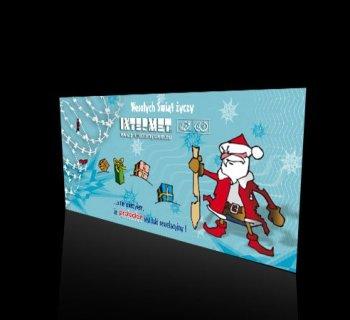 Kartka świąteczna firmy INTERMET