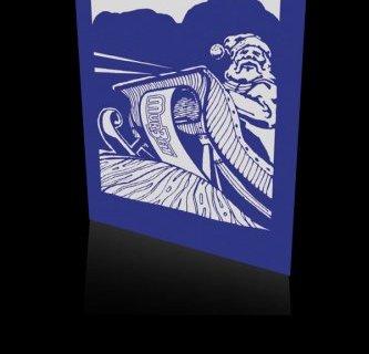 Kartka świąteczna firmy MG MURBET