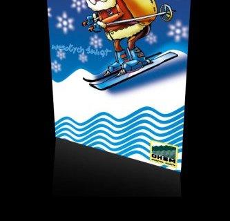 Kartka świąteczna firmy OKSM