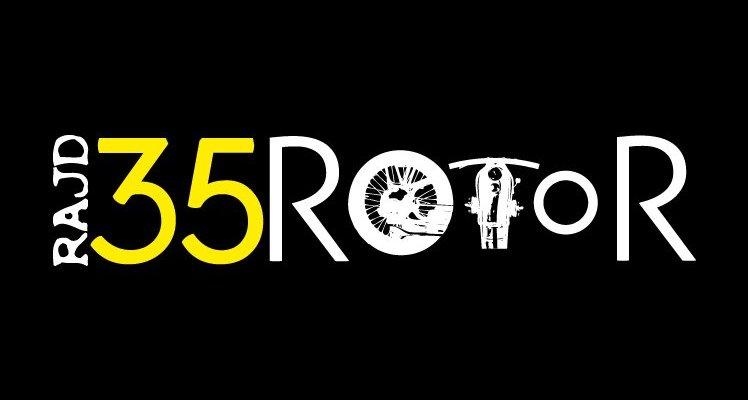 Logotyp XXXV Rajdu Rotor 2011