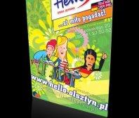 Plakat Szkoły Językowej Hello