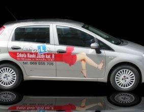 Reklama nauka jazdy