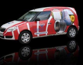 Samochód firmy WODMIAR