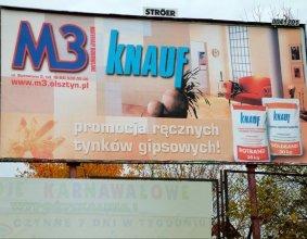 Tablica reklamowa KNAUF