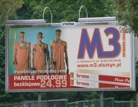 Tablica reklamowa M3