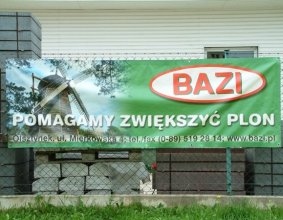 Transparent firmy BAZI