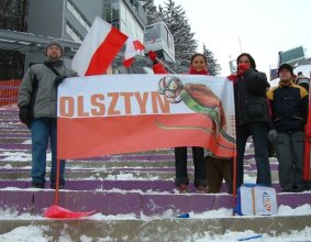 Transparent na imprezę sportową – Olsztyn