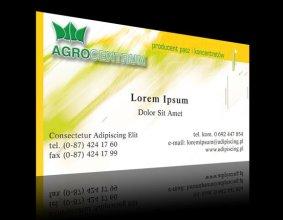 Wizytówka firmy AGROCENTRUM
