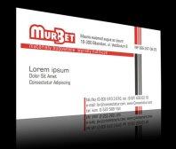 Wizytówka firmy MurBet