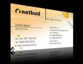 Wizytówka firmy Netbud