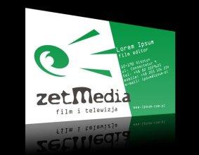 Wizytówka firmy Zet Media