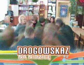 Drogowskaz na Nidzicę