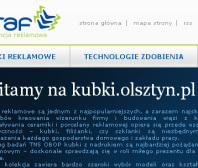 Strona www Kubki.olsztyn.pl
