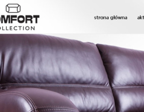 Strona www Comfort Collection