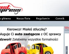 Strona www Dast Express
