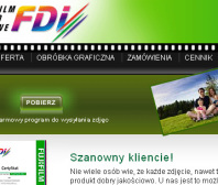 Strona www FDI-FORMAT