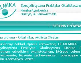 Strona www OFTALMIKA