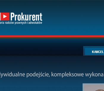 Strona www Prokurent