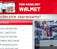Strona internetowa Walmet