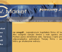 Strona www CV MARKET