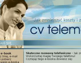Strona www CV TELEMARK