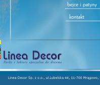 Strona www LINEA DECOR